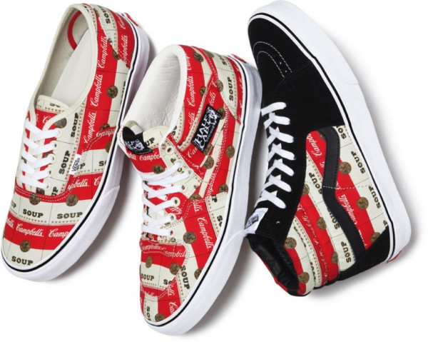 Vans x Supreme Offer a Casual Tribute to Andy Warhol and