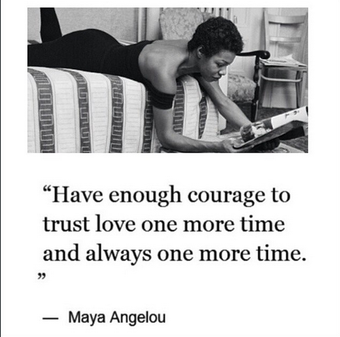 Quote of the Day: Maya Angelou on Love – Lavish Rebellion