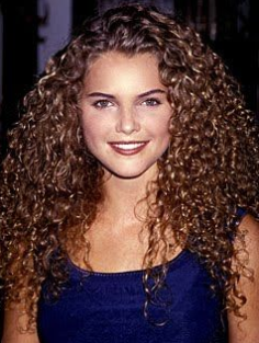 Keri Russell's epic curly hair