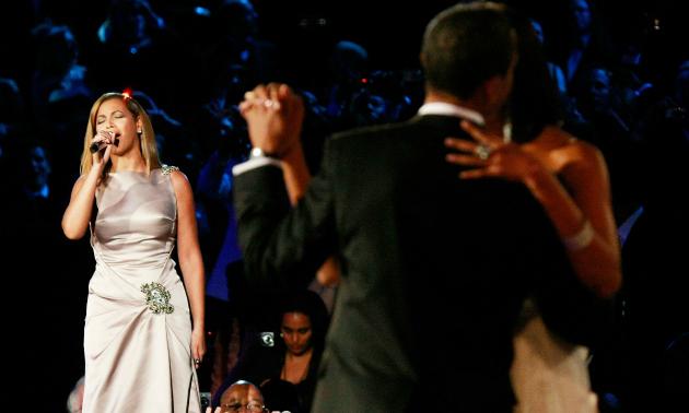 Beyonce Barack michelle Obama