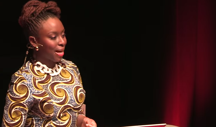 feminism speech by chimamanda ngozi adichie It's called dear ijeawele, or a feminist manifesto in fifteen suggestions   chimamanda adichie's novels include americanah and half of a yellow sun  the author is  by chimamanda ngozi adichie  because he made very  demeaning remarks about her appearance, about her breasts, that kind of thing.