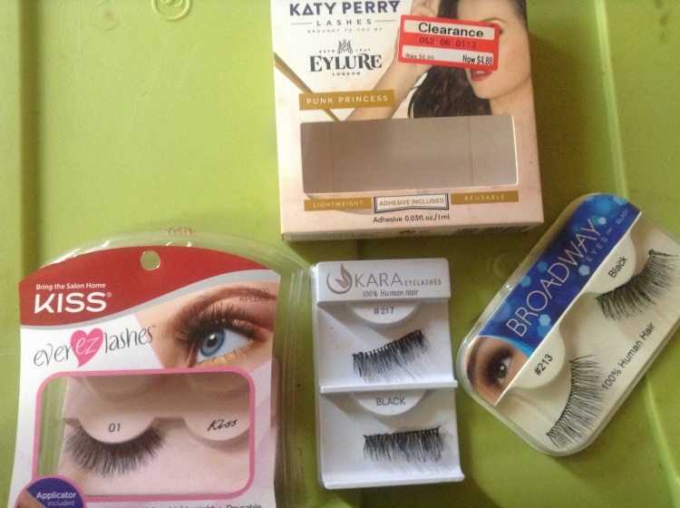 first set of lashes