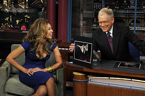 Beyonce-letterman