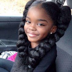 black baby girl