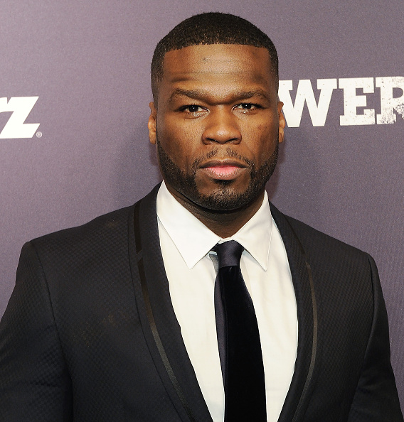 "NEW YORK, NY - JUNE 02:  50 Cent attends the ""Power"" Season Two Series Premiere at Best Buy Theater on June 2, 2015 in New York City.  (Photo by Daniel Zuchnik/WireImage)"