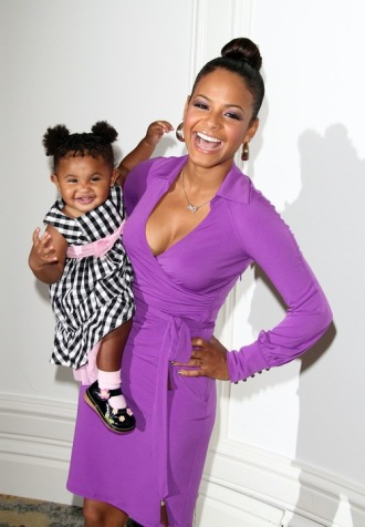 #7174738 The 31st Annual Silver Rose Gala & Auction to benefit Jenesse Center held at The  Beverly Hills Hotel in Beverly Hills, California on April 17th, 2011. Christina Milian and Daughter  Fame Pictures, Inc - Santa Monica, CA, USA - +1 (310) 395-0500