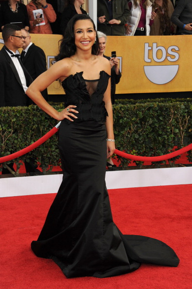 LOS ANGELES, CA - JANUARY 27:  Actress Naya Rivera arrives at the 19th Annual Screen Actors Guild Awards held at The Shrine Auditorium on January 27, 2013 in Los Angeles, California.  (Photo by Jennifer Graylock/FilmMagic)