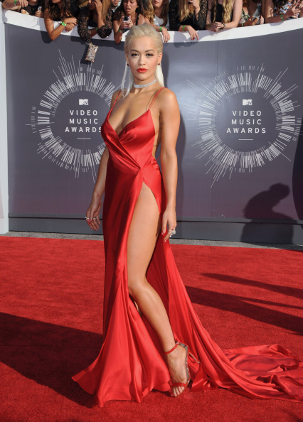 INGLEWOOD, CA - AUGUST 24:  Singer Rita Ora arrives at the 2014 MTV Video Music Awards at The Forum on August 24, 2014 in Inglewood, California.  (Photo by Axelle/Bauer-Griffin/FilmMagic)