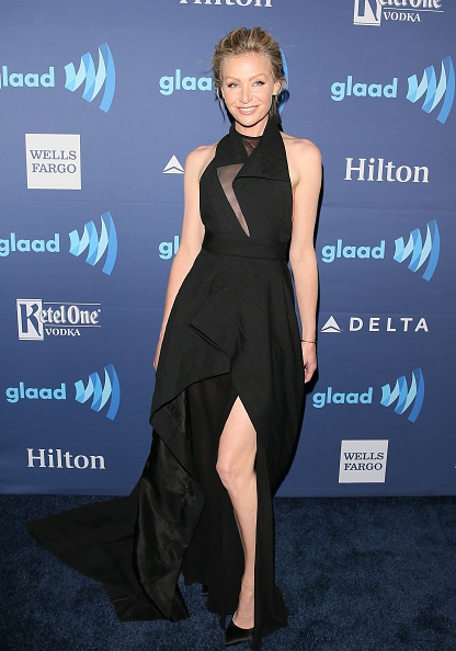 BEVERLY HILLS, CA - MARCH 21:  Portia de Rossi attends the 26th Annual GLAAD Media Awards at The Beverly Hilton Hotel on March 21, 2015 in Beverly Hills, California.(Photo by JB Lacroix/WireImage)