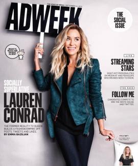 Lauren Conrad AdWeek