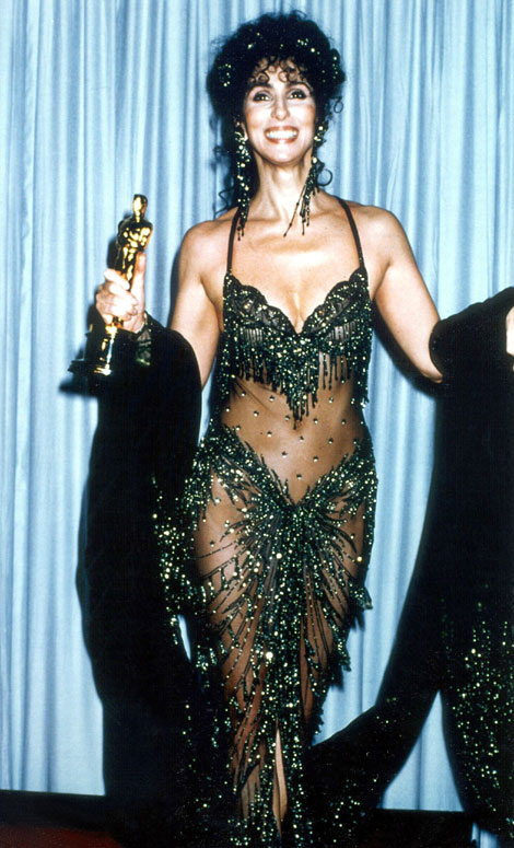 cher-1988-acad-awards