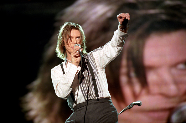 Netaid Charity Concert For Third World Debt, Wembley Stadium, London, Britain - 1999, David Bowie (Photo by Brian Rasic/Getty Images)